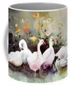 Six Quackers Coffee Mug