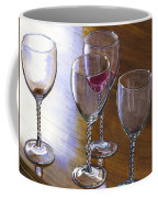 Six Wine Glasses Coffee Mug