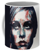 Sixties Sixties Sixties Twiggy Coffee Mug by Paul Lovering