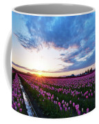 Skagit Floral Sunset Coffee Mug