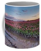 Skagit Valley Tulip Reflections Coffee Mug