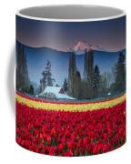 Skagit Valley Tulips-mt. Baker Coffee Mug