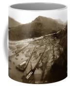 Skaguway, Alaska View From Hill Over Looking 1898 Coffee Mug