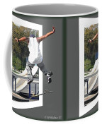 Skateboarder - Gently Cross Your Eyes And Focus On The Middle Image Coffee Mug
