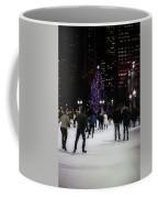 Skating By The Tree Coffee Mug