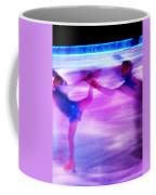 Skating Couple Abstract 2 Coffee Mug