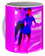 Skating Couple Abstract Coffee Mug