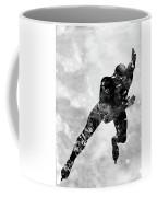 Skating Man-black Coffee Mug