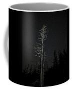 Skeletal Tree Starscape Coffee Mug