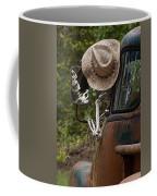 Skeleton Crew - Skeleton Driving A Vintage Truck Coffee Mug