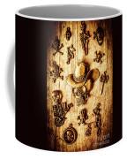 Skeleton Pendant Party Coffee Mug