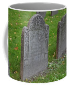 Skeleton Tombstone 1600s Coffee Mug