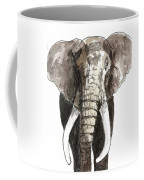 Sketch Elephant Coffee Mug