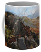 Sketch In Snowdonia Coffee Mug