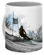 Ski Racer Backlit Coffee Mug