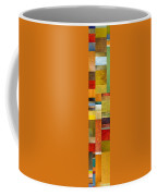Skinny Color Study L Coffee Mug by Michelle Calkins