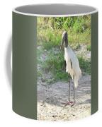 Skinny Wood Stork Coffee Mug