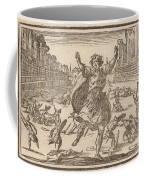 Skirmish In A Roman Circus Coffee Mug