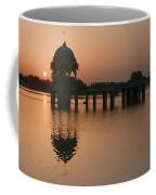 Skn 1364 Sunrise Behind Cenotaph Coffee Mug