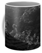 Skn 6707 Tree Parade. B/w Coffee Mug