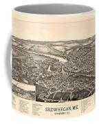 Skowhegan Maine 1892 Coffee Mug