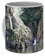 Skryje Waterfall And Pond Coffee Mug