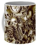 Skull And Cross Bone Treasure Coffee Mug