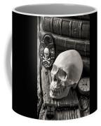 Skull And Skeleton Key Coffee Mug