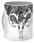 Skull Art Coffee Mug