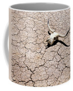 Skull In Desert 2 Coffee Mug by Kelley King