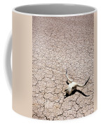 Skull In Desert Coffee Mug