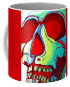 Skull Original Madart Painting Coffee Mug