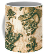 Skulls And Pieces Coffee Mug