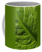 Skunk Cabbage Leaf Coffee Mug