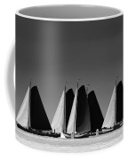 Skutsje Wedstrijd Veld Coffee Mug