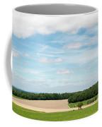 Sky Over Field Coffee Mug