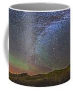 Skygazer Standing Under The Stars Coffee Mug
