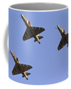 Skyhawk Fighter Jet In Formation  Coffee Mug