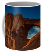 Skyline Arch At Sunset Coffee Mug