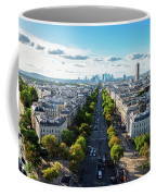 Skyline Of Paris, France Coffee Mug
