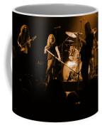 Skynyrd Sf 1975 #10 Crop 2 Enhanced In Amber Coffee Mug