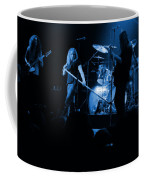 Skynyrd Sf 1975 #10 Crop 2 Enhanced In Blue Coffee Mug