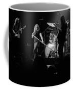 Skynyrd Sf 1975 #10 Crop 2 Enhanced In Bw Coffee Mug
