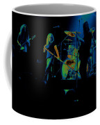 Skynyrd Sf 1975 #10 Crop 2 Enhanced In Cosmicolors Coffee Mug