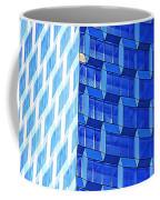 Skyscraper Blue Coffee Mug
