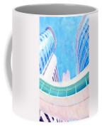 Skyscrapers Against Blue Sky Coffee Mug