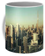 Skyscrapers Of Dubai At Sunset Coffee Mug