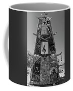 Slab City Museum Tower Bw Coffee Mug