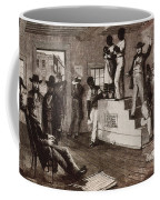 Slave Auction In Virginia Coffee Mug by Photo Researchers