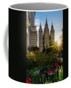 Slc Temple Sunburst Coffee Mug